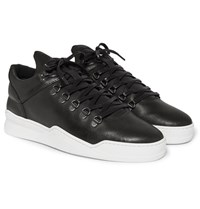 Filling Pieces Mountain Leather Sneakers Black