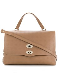 Zanellato Malo Di Noce Shoulder Bag Brown