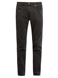 Frame L'homme Skinny Jeans Charcoal