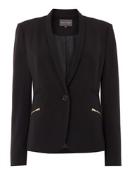 Pied A Terre Zip Pocket Jacket Black