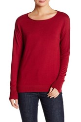 Valette Long Sleeve Sweater Red