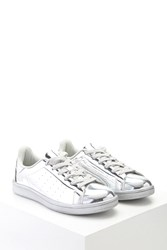 Forever 21 Metallic Lace Up Sneakers