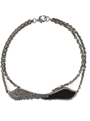 Garrard 'Double Wing' Bracelet Metallic