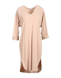 Filippa K Knee Length Dresses Skin Color