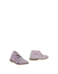 Le Crown Shoe Boots Pink