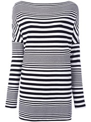 I'm Isola Marras Striped Top Black