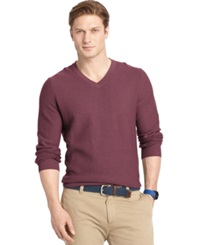 Izod Big And Tall V Neck Sweater Fig