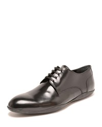 Harry's Of London Duncan Leather Lace Up Oxfords Black Blue