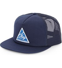 Obey New Federation Cotton Blend Trucker Cap Navy