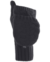Under Armour Around Town Flip Cable Knit Mittens Black