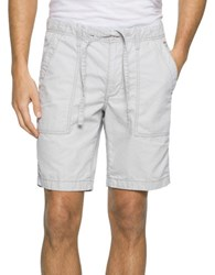Calvin Klein Jeans Relaxed Shorts Grey Violet