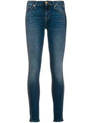 7 For All Mankind Love Song Jeans Blue