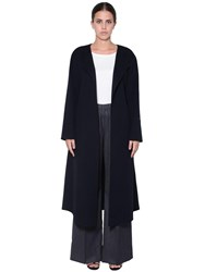 Marina Rinaldi Wool Coat Blue