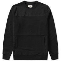 Folk Pocket Crew Sweat Black