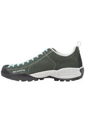 Scarpa Mojito Hiking Shoes Forest Maledive Dark Green