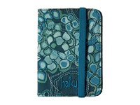 Haiku Track Rfid Passport Case Hydrangea Print Handbags Green