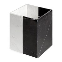 Jonathan Adler Canaan Soap Dispenser Black White Marble