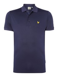 Lyle And Scott Men's Sports Pascoe Short Sleeve Polo Navy