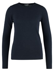 United Colors Of Benetton Slim Fit Jumper Navy Blue Dark Blue