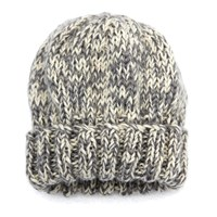 The North Circular Marl Beanie Brown