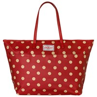 Cath Kidston Large Trimmed Tote Berry