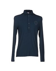 Gianfranco Ferre Gf Ferre' Topwear Polo Shirts Men Slate Blue