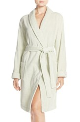 Women's Nordstrom Lingerie Cozy Terry Robe Green Fairest