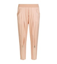 Pinko Satin Trousers Female Pink