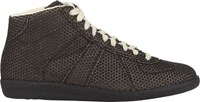 Maison Martin Margiela Maison Margiela Rubberized Dot Sneakers Black