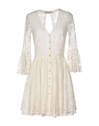 Heimstone Short Dresses Ivory