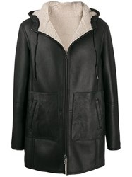Desa 1972 Shearling Lined Leather Jacket 60
