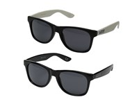 Vans Spicoli 4 Two Pack Black Black White Fashion Sunglasses