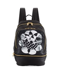 Cynthia Rowley Brody Printed Nylon Backpack Black