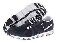 On Cloud Navy White Men's Running Shoes Blue