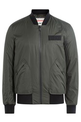 Hunter Bomber Jacket Green