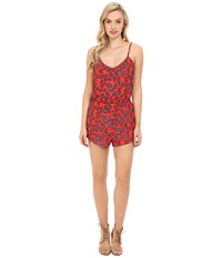 Show Me Your Mumu Rorey Romper Carrcitos Paisley Women's Jumpsuit And Rompers One Piece Red