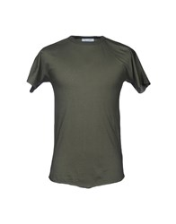 Aglini T Shirts Military Green
