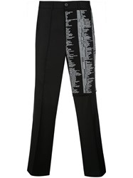 Yang Li High Rise Scripted Trousers 60