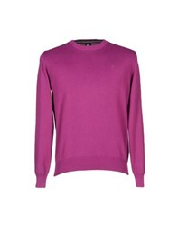 Marina Yachting Knitwear Jumpers Men Purple