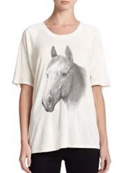 Wildfox Couture Horse Print Tee