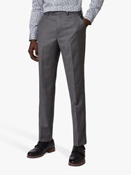 Ted Baker Board Check Trousers Grey
