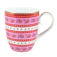 Pip Studio Large Ribbon Rose Mug Pink