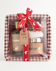 Baylis And Harding The Fuzzy Duck Christmas Beauty Basket Gift Set No Colour Clear