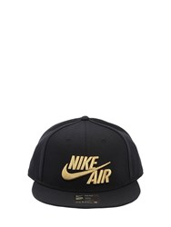 Nike Air True Baseball Hat Black Gold