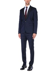 Aglini Suits And Jackets Suits Dark Blue