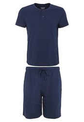 Zalando Essentials Pyjamas Navy Dark Blue