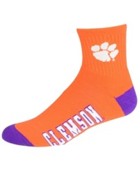 For Bare Feet Clemson Tigers Ankle Tc 501 Socks Team Color