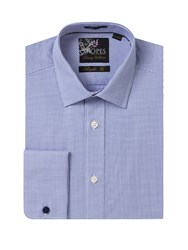 Skopes Luxury Collection Formal Shirt Blue