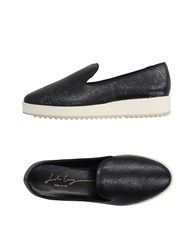 Lola Cruz Footwear Moccasins Women Black