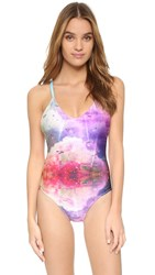 Wildfox Couture Space Cadet One Piece Multi